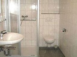 Badezimmer - Ferienwohnung Birke